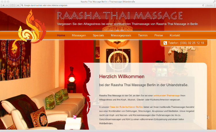 raasha thai massage berlin thaimassage charlottenburg. Black Bedroom Furniture Sets. Home Design Ideas