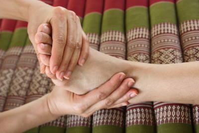 Fußmassage bei Raashathai